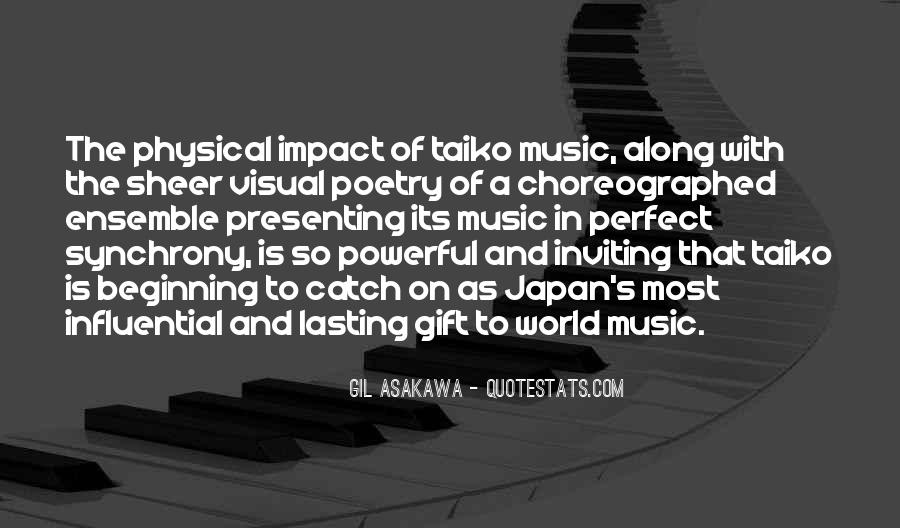 Quotes About The Gift Of Music #968690