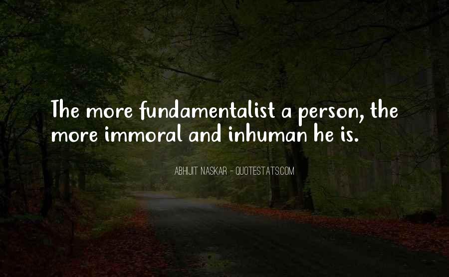 Fundamentalism Brainy Quotes #1502124
