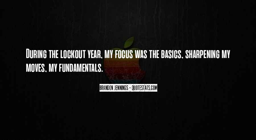 Fundamentals Basics Quotes #1583486