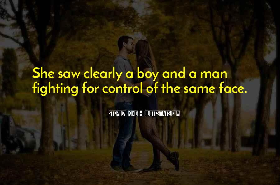 Quotes About Growing From A Boy To A Man #1209091