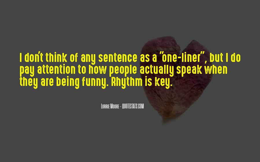 Funny 1 Sentence Quotes #1791777