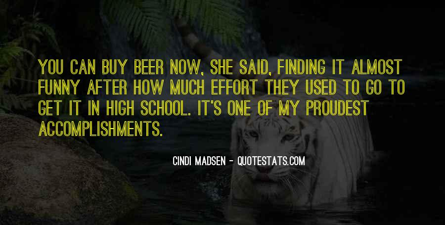 Funny Accomplishments Quotes #1366708