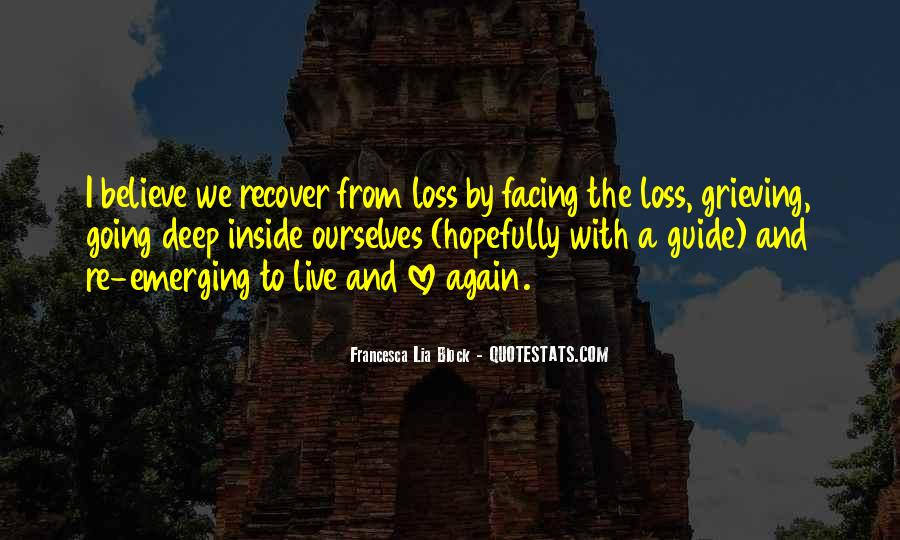 Quotes About Grieving And Loss #104034