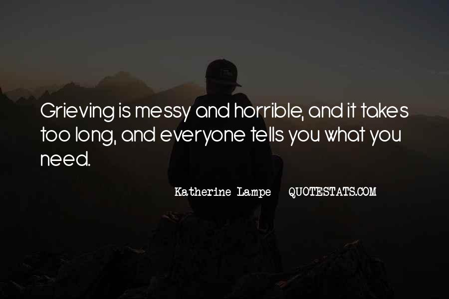 Quotes About Grieving And Loss #1059609