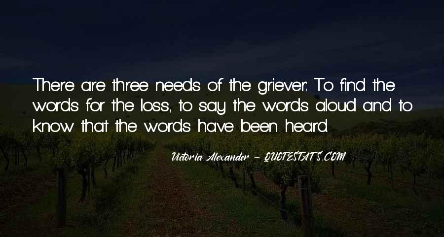 Quotes About Grieving And Loss #1306905