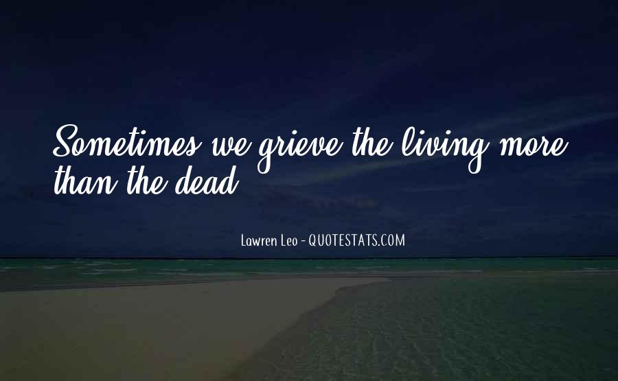 Quotes About Grieving And Loss #1658379