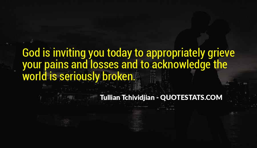 Quotes About Grieving And Loss #908700