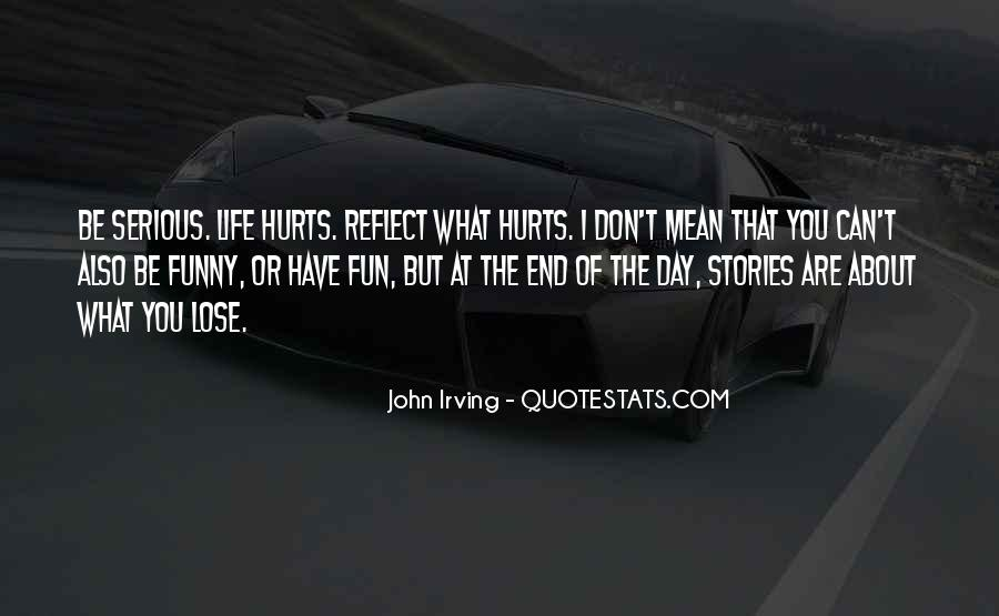 Funny But Hurt Quotes #1176714