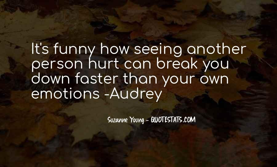 Funny But Hurt Quotes #895208