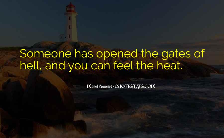 Quotes About The Gates Of Hell #1027229