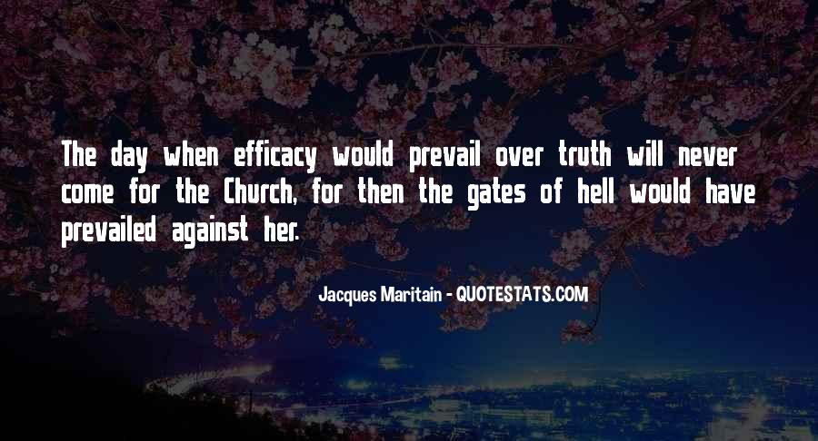 Quotes About The Gates Of Hell #109318