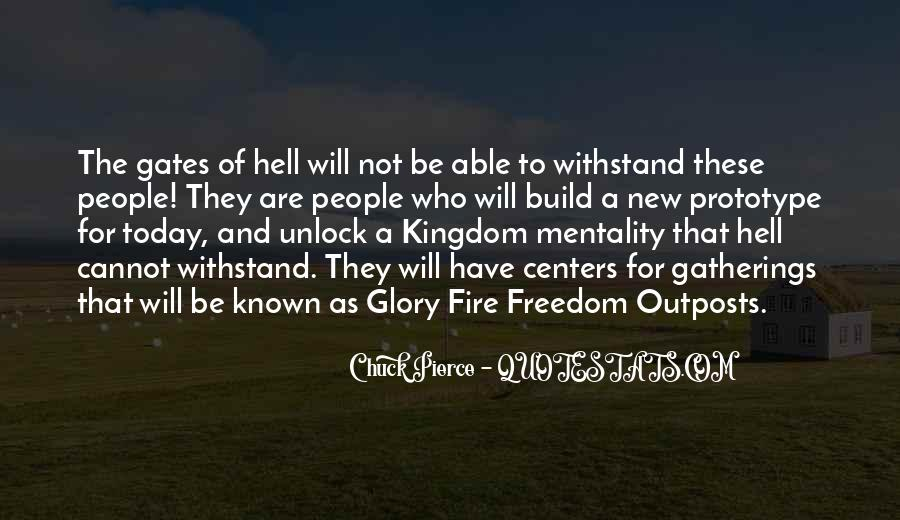Quotes About The Gates Of Hell #1232784