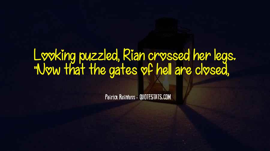 Quotes About The Gates Of Hell #142927