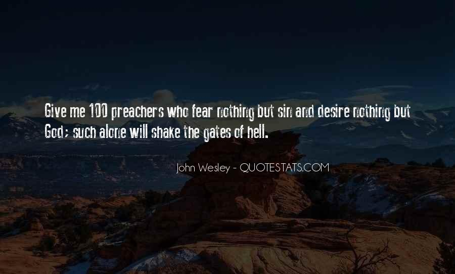 Quotes About The Gates Of Hell #1453636