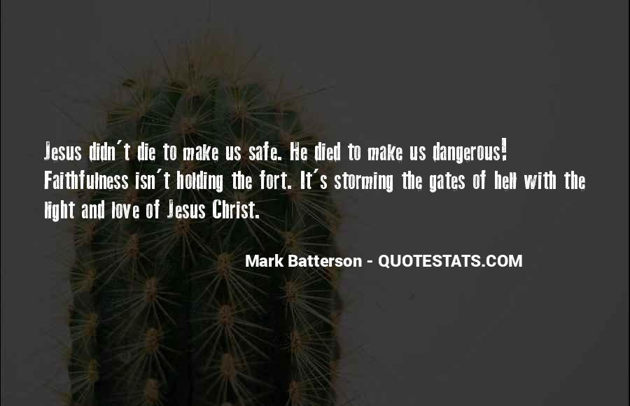 Quotes About The Gates Of Hell #177324