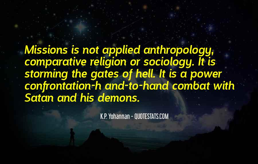 Quotes About The Gates Of Hell #1868525