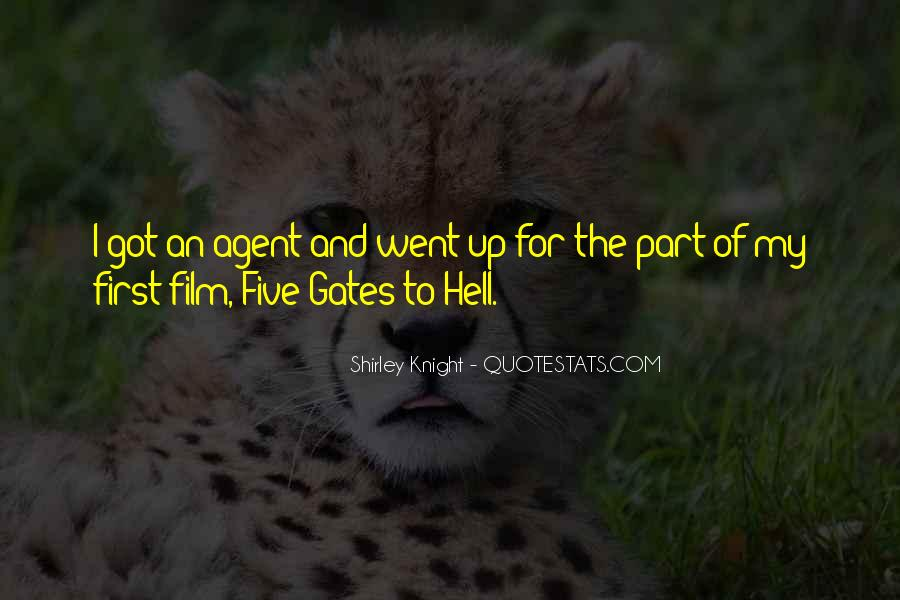 Quotes About The Gates Of Hell #591243