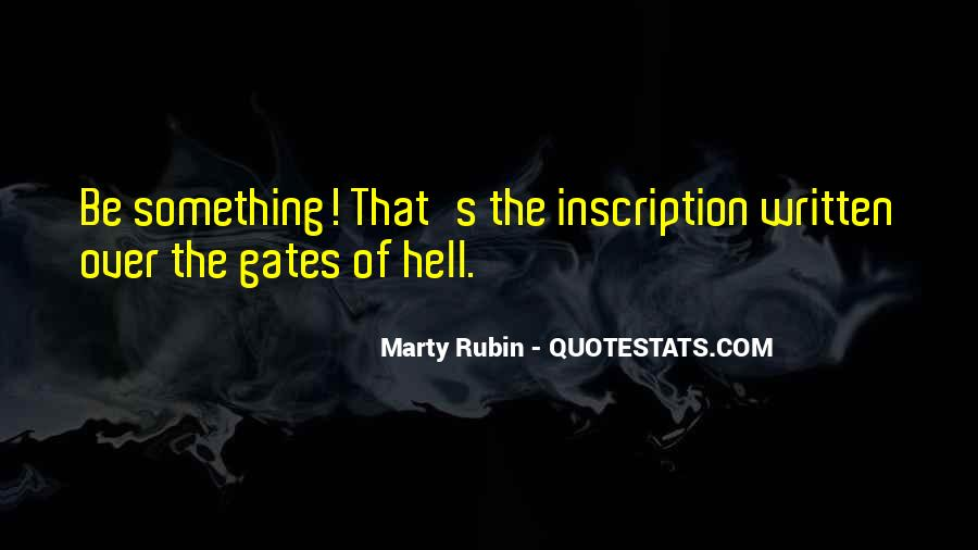 Quotes About The Gates Of Hell #701179