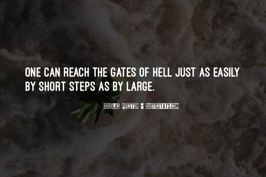 Quotes About The Gates Of Hell #838466