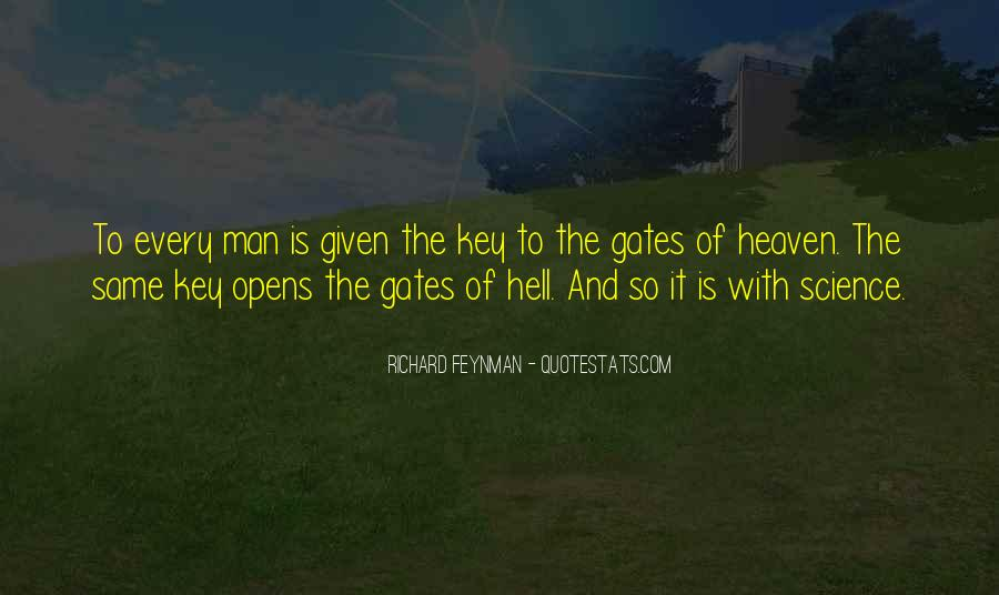 Quotes About The Gates Of Hell #898781