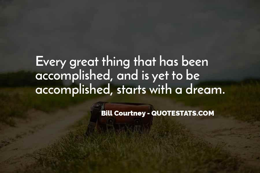 Quotes About Great Starts #1020878