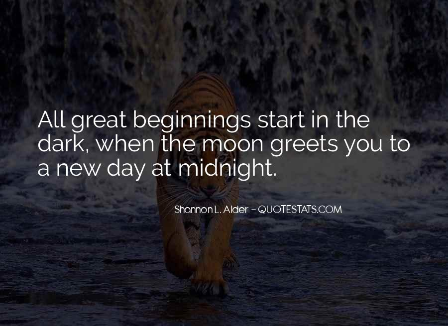 Quotes About Great Starts #1174078