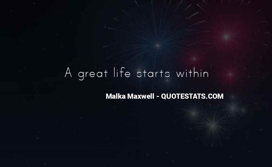 Quotes About Great Starts #1380674