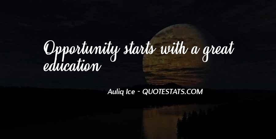 Quotes About Great Starts #354414