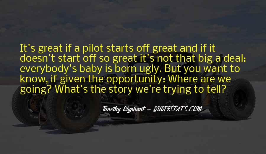 Quotes About Great Starts #424367