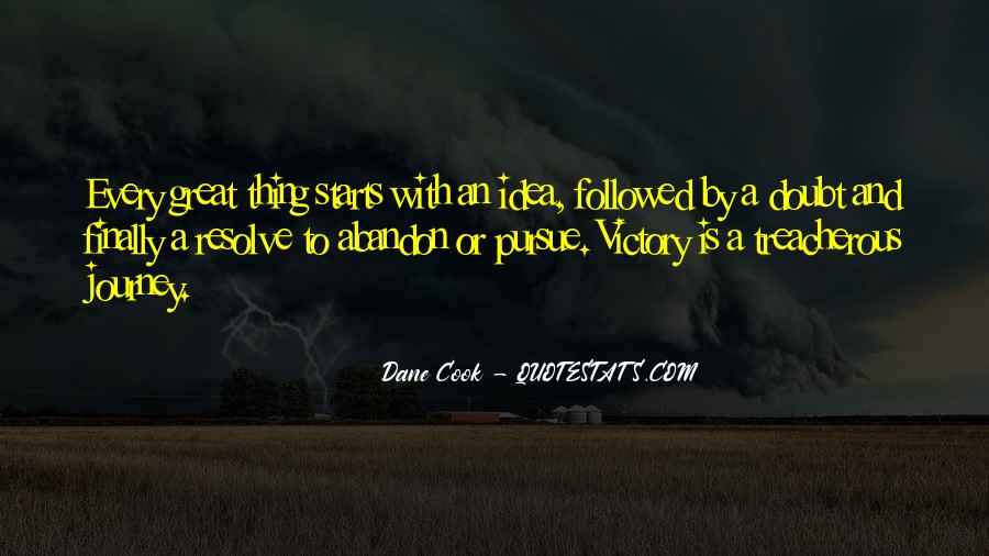 Quotes About Great Starts #583245