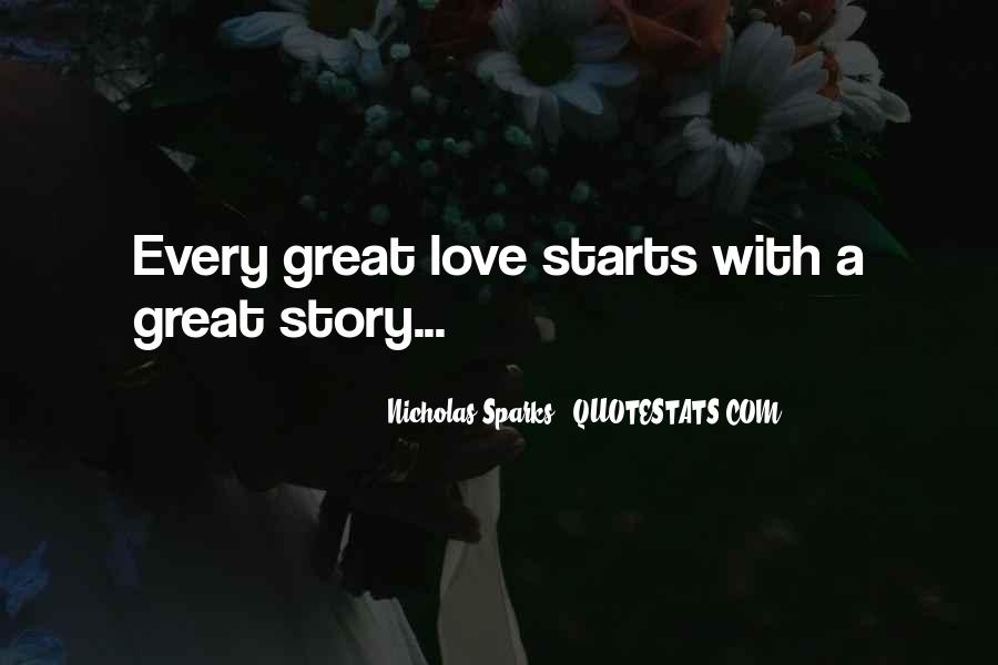 Quotes About Great Starts #587700