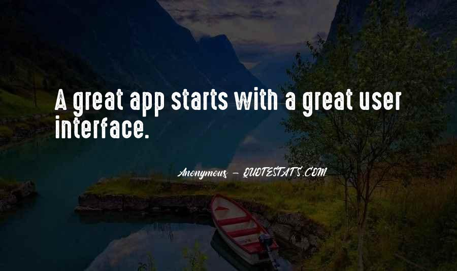 Quotes About Great Starts #806590