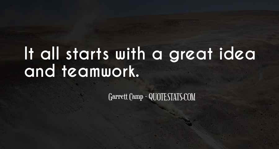 Quotes About Great Starts #829708