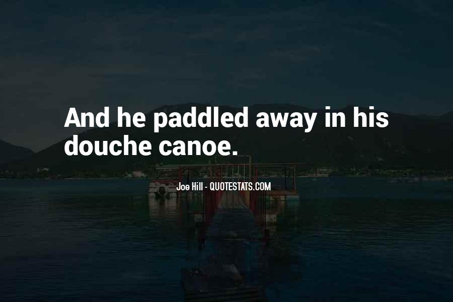 Funny Canoe Quotes #951623