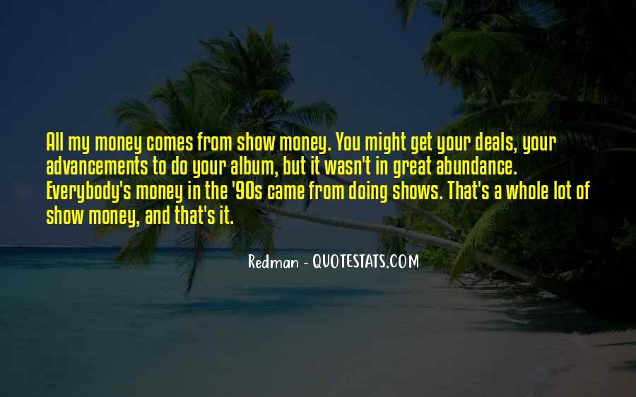 Quotes About Great Shows #143557