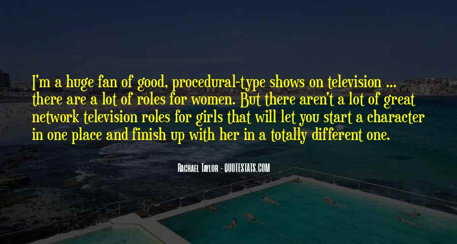 Quotes About Great Shows #194635