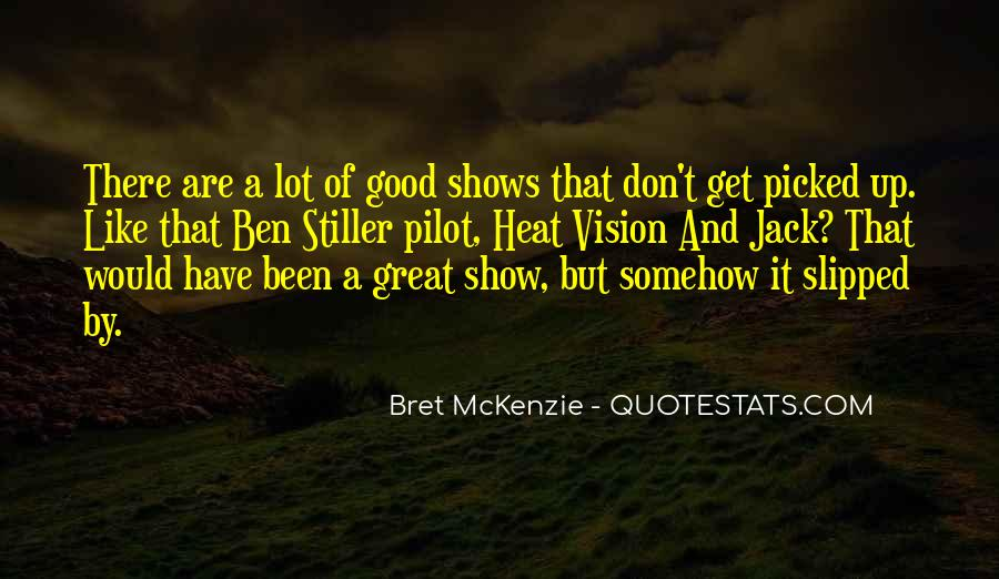 Quotes About Great Shows #229421