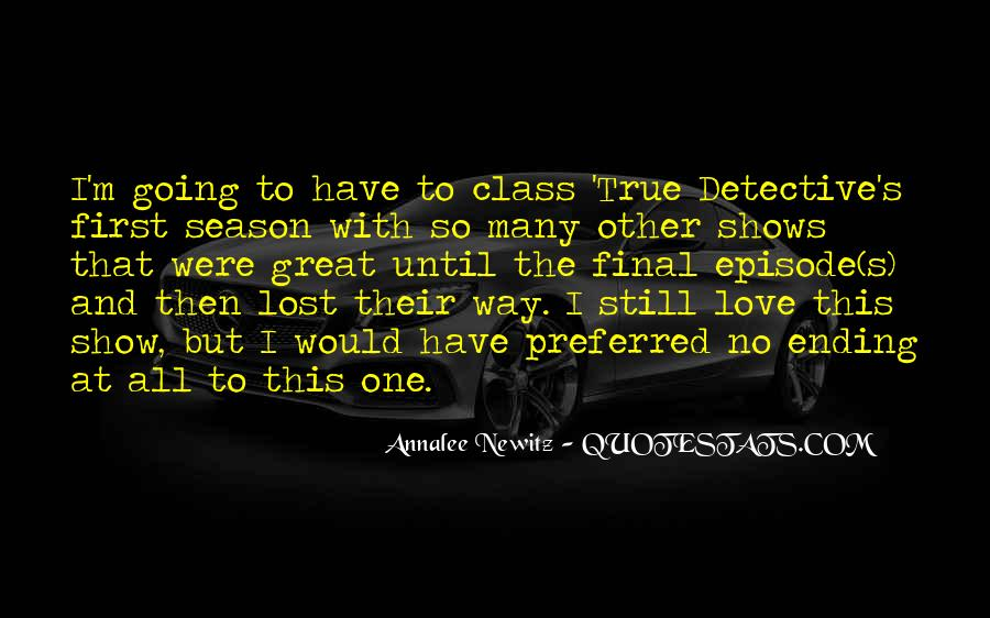 Quotes About Great Shows #663869