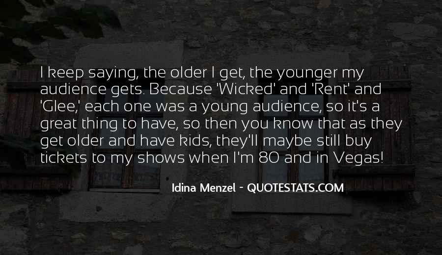 Quotes About Great Shows #752578