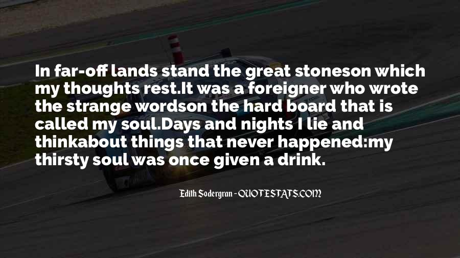 Quotes About Great Nights #1202297