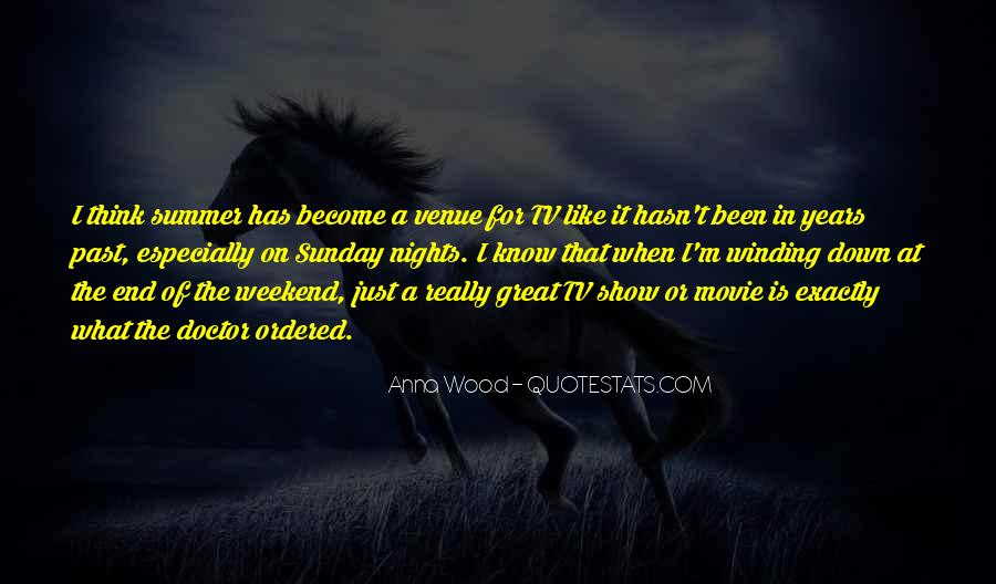 Quotes About Great Nights #1362242
