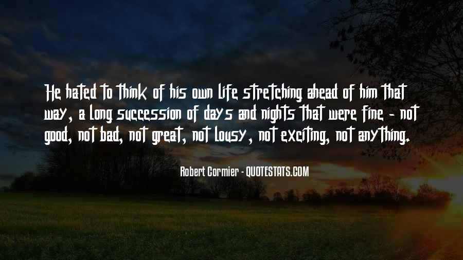 Quotes About Great Nights #417349