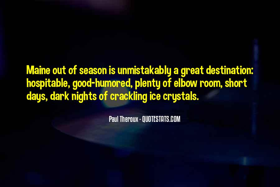 Quotes About Great Nights #935794