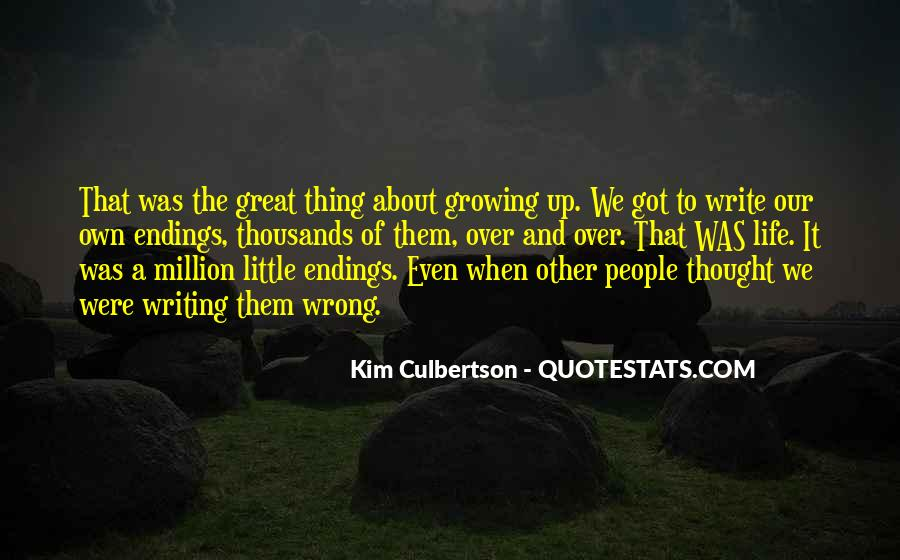 Quotes About Great Endings #387237