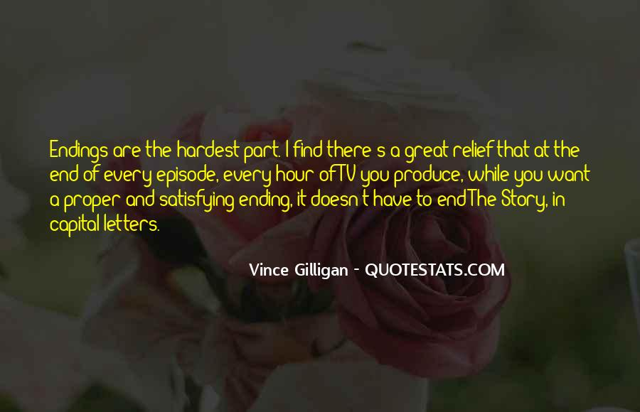 Quotes About Great Endings #668491