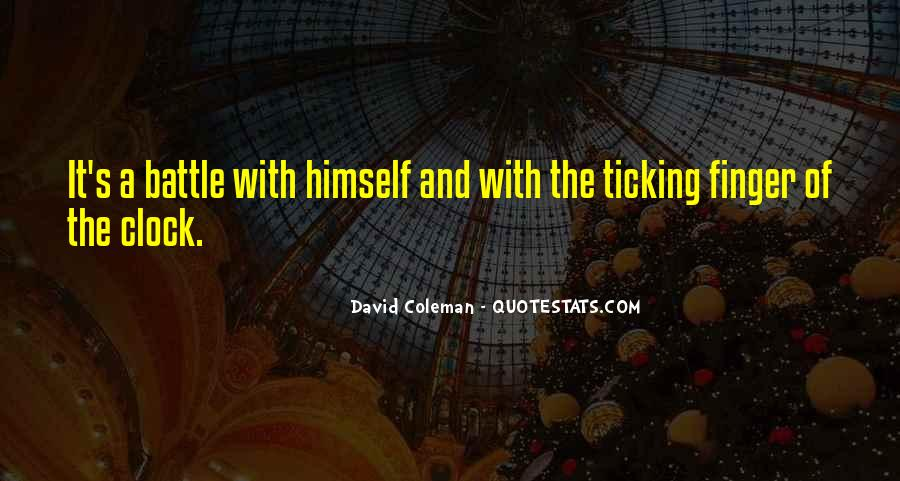 Funny David Coleman Quotes #1401082