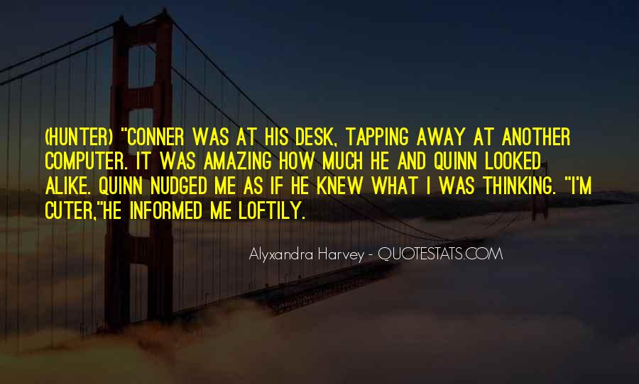 Funny Desk Quotes #1346700