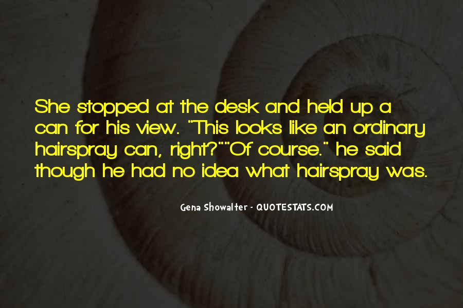 Funny Desk Quotes #1838126