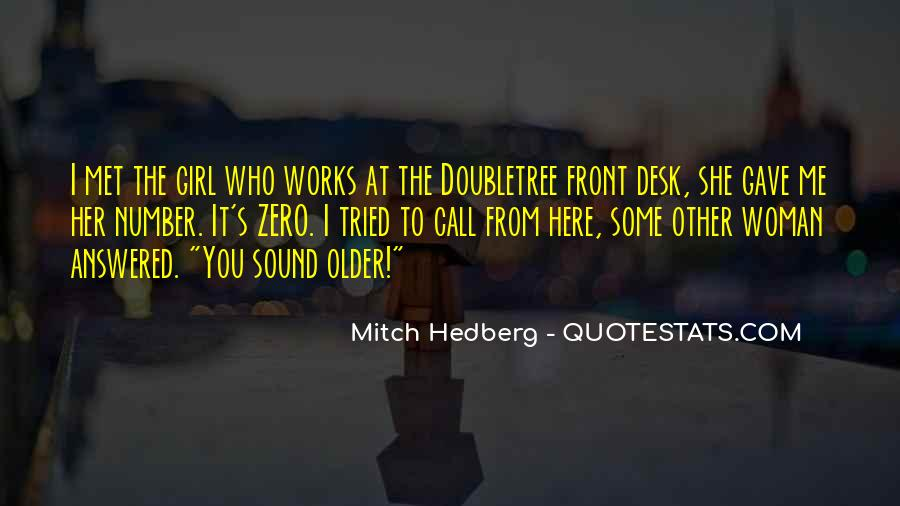 Funny Desk Quotes #443420