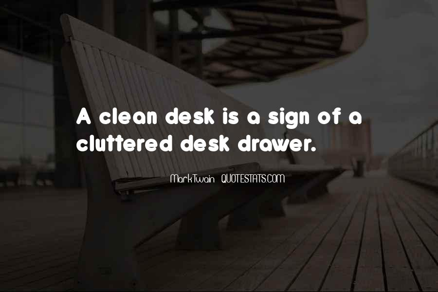 Funny Desk Quotes #98475